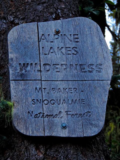 Header of Alpine Lakes Wilderness