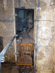 Stair in pillar