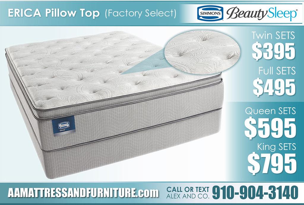 Erica Factory Select Pillow Top