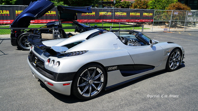 2010 Koenigsegg CCXR Trevita at Mecum Auction Monterey 2017