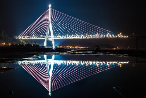高屏溪-斜張橋