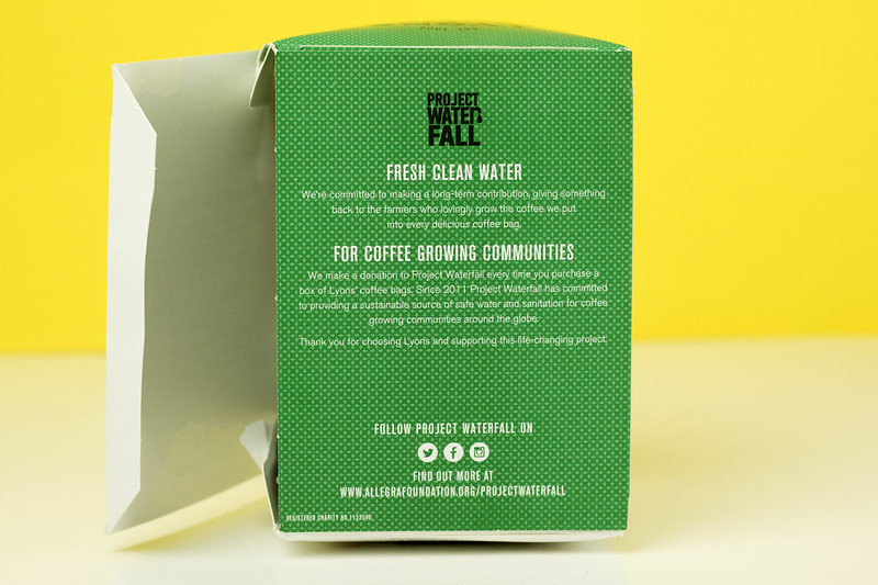 Coffee Bags Project Waterfall