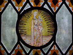 Rayed Blessed Virgin and Christ Child
