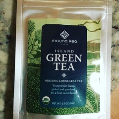 mauna kea green tea❤︎ #madeinhawaiifestival #bigisland #greentea #hawaii #buylocal