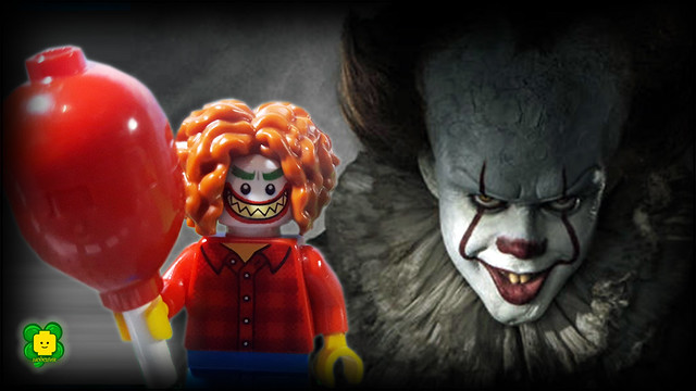 IT Stephen King Horror Movie In Lego Stop Motion Parody 2