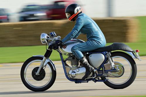 BSA Gold Star Motorcycle