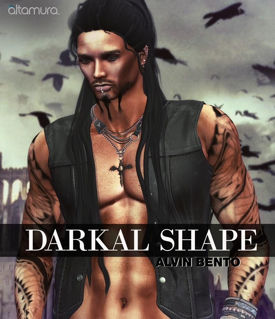 Altamura Darkal Shape for Alvin Bento Head - SecondLifeHub.com