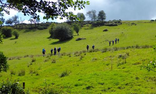 Up onto moors