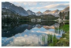 Sunrise little lakes valley