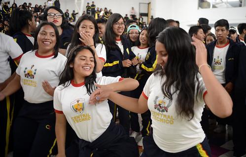 Muévete Ecuador se celebró en el Centro Activo del Ministerio del Deporte