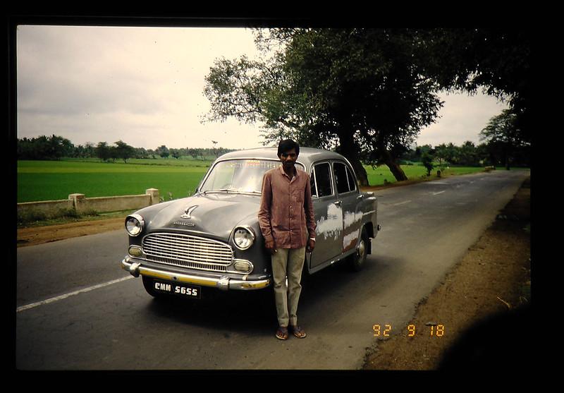 A Rentacar (ambassador) And A Driver = レンタカー(アンバサダー)と運転手