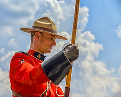 On Guard. RCMP Musical Ride.