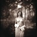 Nude portrait in the woods. 8x10 platinum print by ray_bidegain
