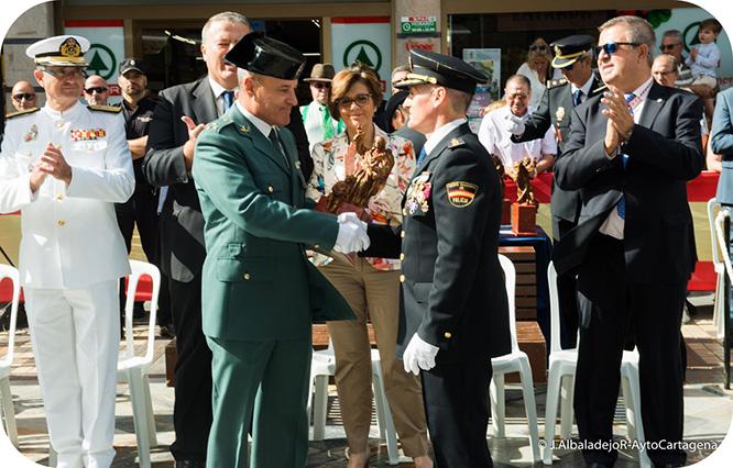 La Policía Nacional celebra la festividad de sus Patrones
