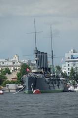 Imperial Russian Navy Aurora Pallada Class protected cruiser Saint Petersburg Russia