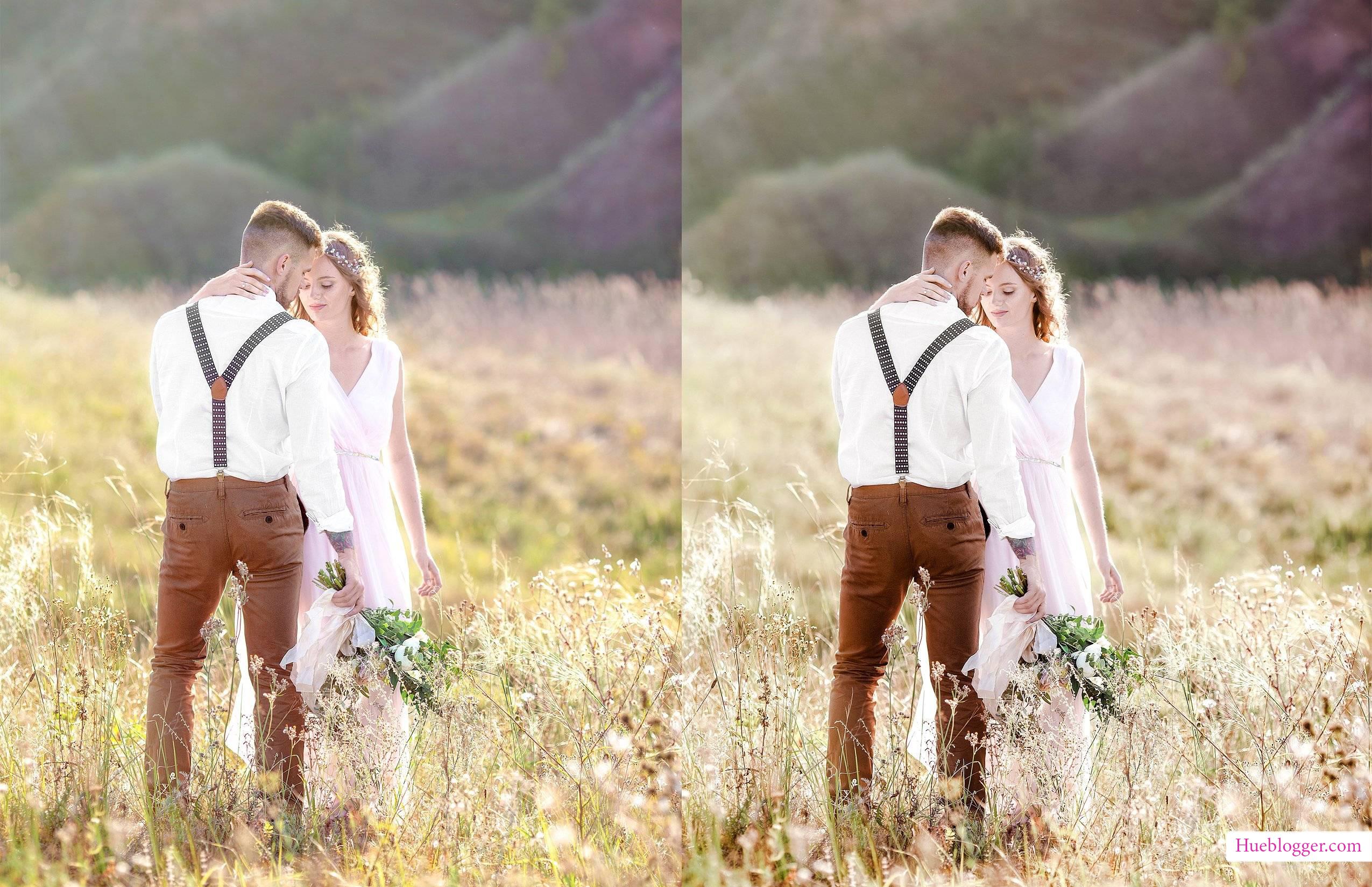 Bộ màu dành cho photoshop ảnh cưới tuyệt đẹp