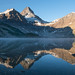 Mt. Assiniboine in the morning by Calypso Orchid