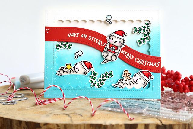 Stamptember: Christmas Like No Otter!