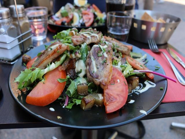 mancare salata nicoise creperie obiective turistice toulouse 2