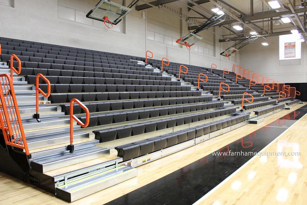 Heidelberg University Seiberling Gymnasium | Bleacher Replacement