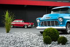 57 Bel Air + 55 Chevy 3100 - Shot 13