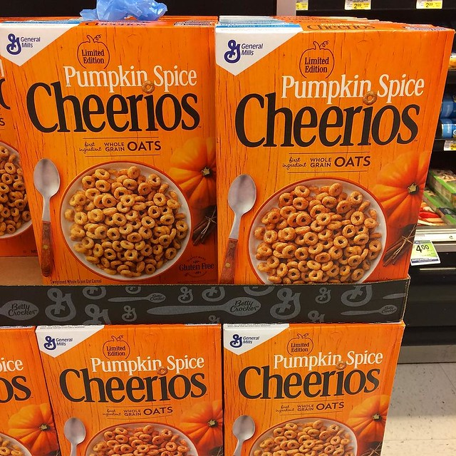 Oh look, they made Cheerios even grosser. 🎃