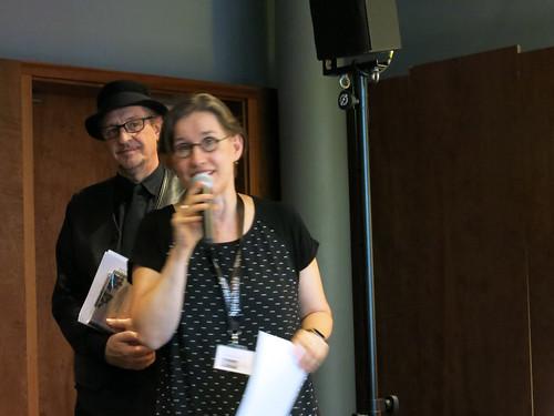 Heinz D. Heisl und Magdalena Kauz