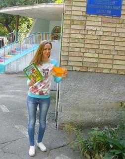 опен-ейр «Веселі малята читають завзято». 14.09.17. ім. І. Франко