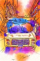 Old Ice Cream Truck