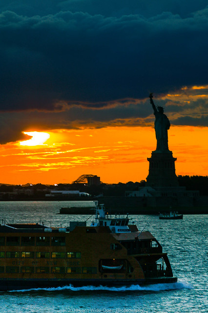 Staten Island Ferry & Lady Liberty