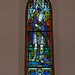 Flt.-Sgt. James Frederick Irvine R.C.A.F. memorial stained glass window Christ Church McNab Niagara-on-the-Lake Doors Open