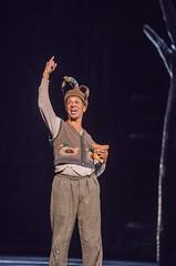 Roderick Williams as Papageno In Die Zauberflöte, The Royal Opera Season 2017/18 © ROH 2017. Photograph by Tristram Kenton.
