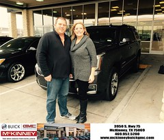 #HappyBirthday to Brad and Amy from Ricky Barnes at McKinney Buick GMC!
