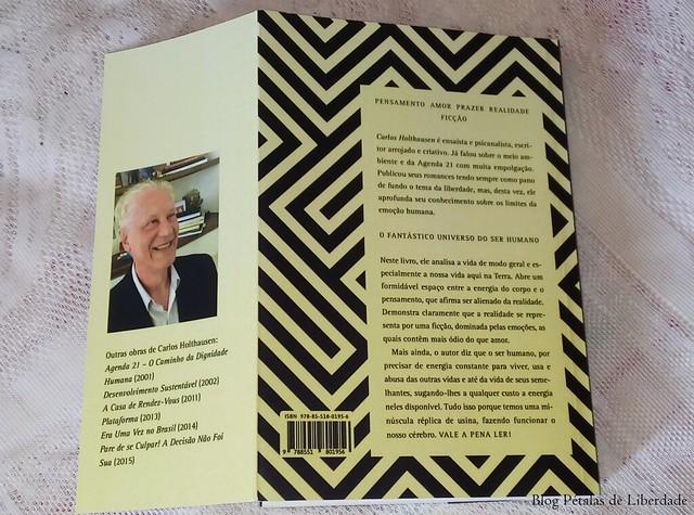 livro O fantástico universo do ser humano, Carlos Holthausen (2)