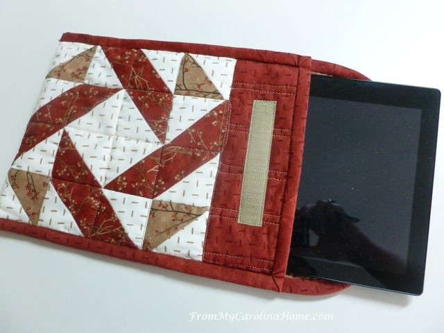 Tablet Cover Sew Along ~ From My Carolina Home