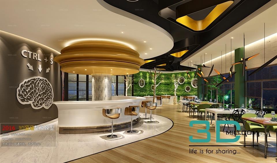 Restaurant d mili download model free