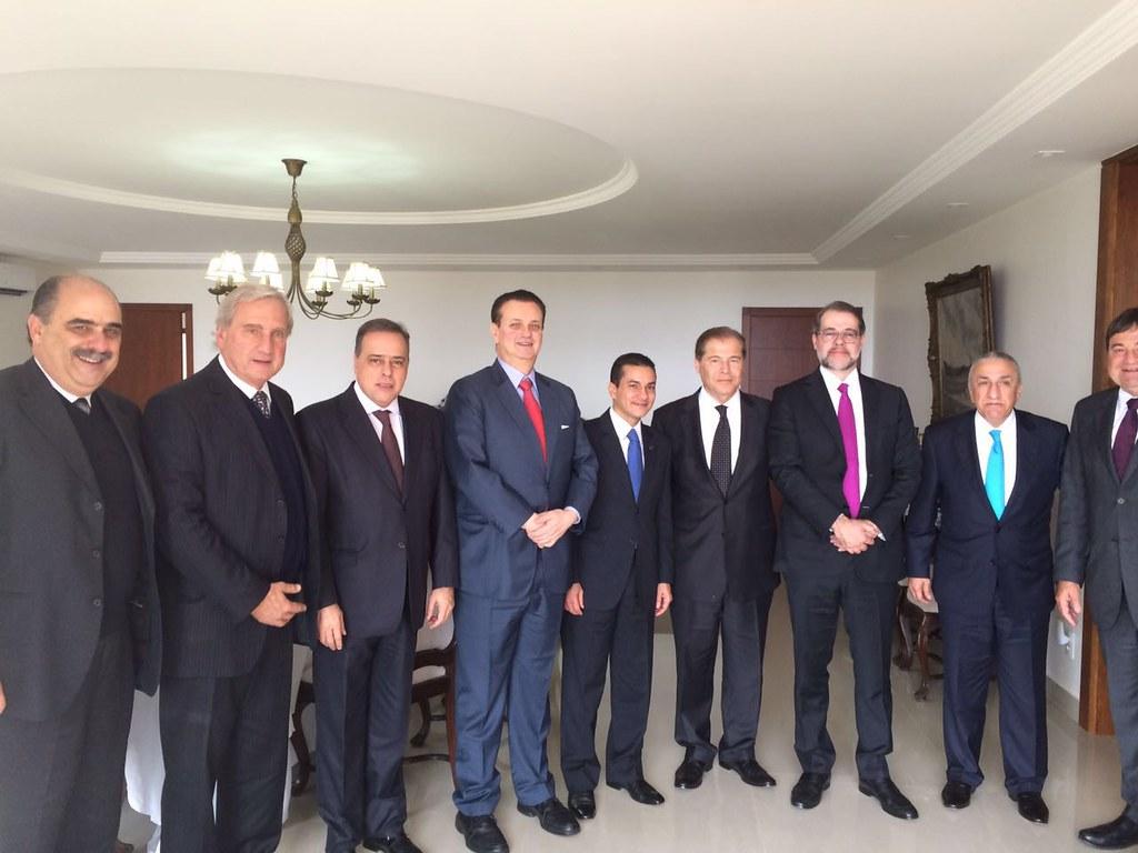 14 06 2016 - Almoço com embaixador do Líbano, Paulo Abi-Ackel, Gilberto Kassab, Joseph Sayah. Dias Toffoli (2)