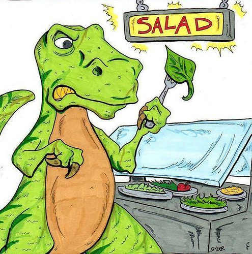 Salad?! by artist Anthony Snyder