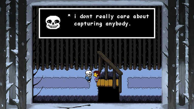 Undertale on PS4 and PS Vita