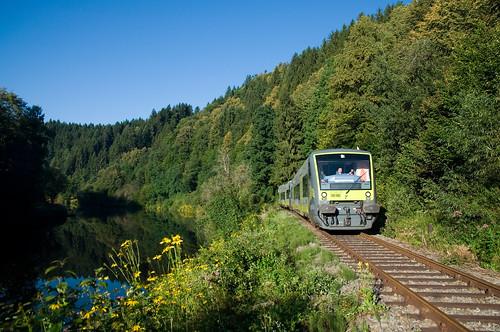 Die Ilztalbahn - Das Grenzüberschreitende Freizeitverkehrsnetz