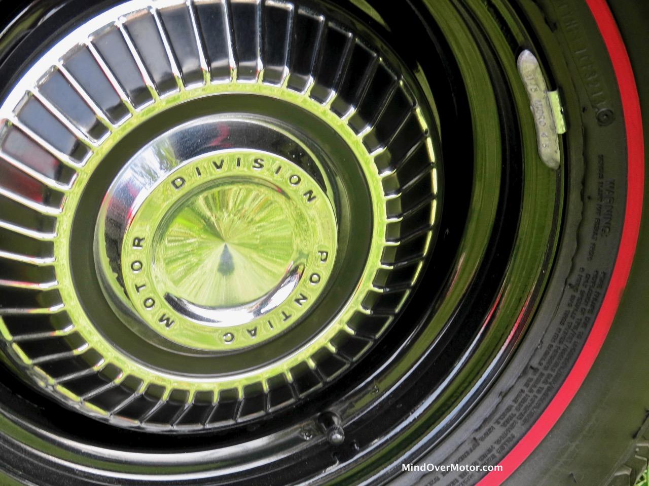 1967 Pontiac GTO Hubcap