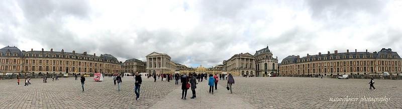Panorámica palacio de Versalles