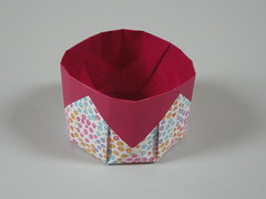 Simple octagonal basket