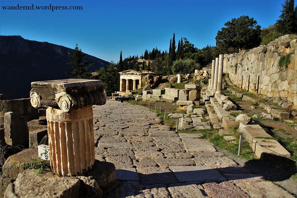 Delphi - Schatzhaus der Athener
