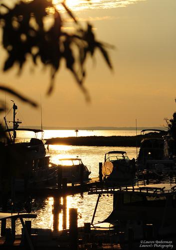 laurensphotography lauren3838photography nikon d700 md maryland tilghman tilghmanisland talbotcounty easternshore chesapeakebay catchycolorsyellow landscape knappsnarrows boats sunset goldenhour tamron150600