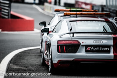 Audi R8 Safety and Doctor's Cars Blancpain Sprint Series, Brands Hatch 2017 Sportscar Racing News