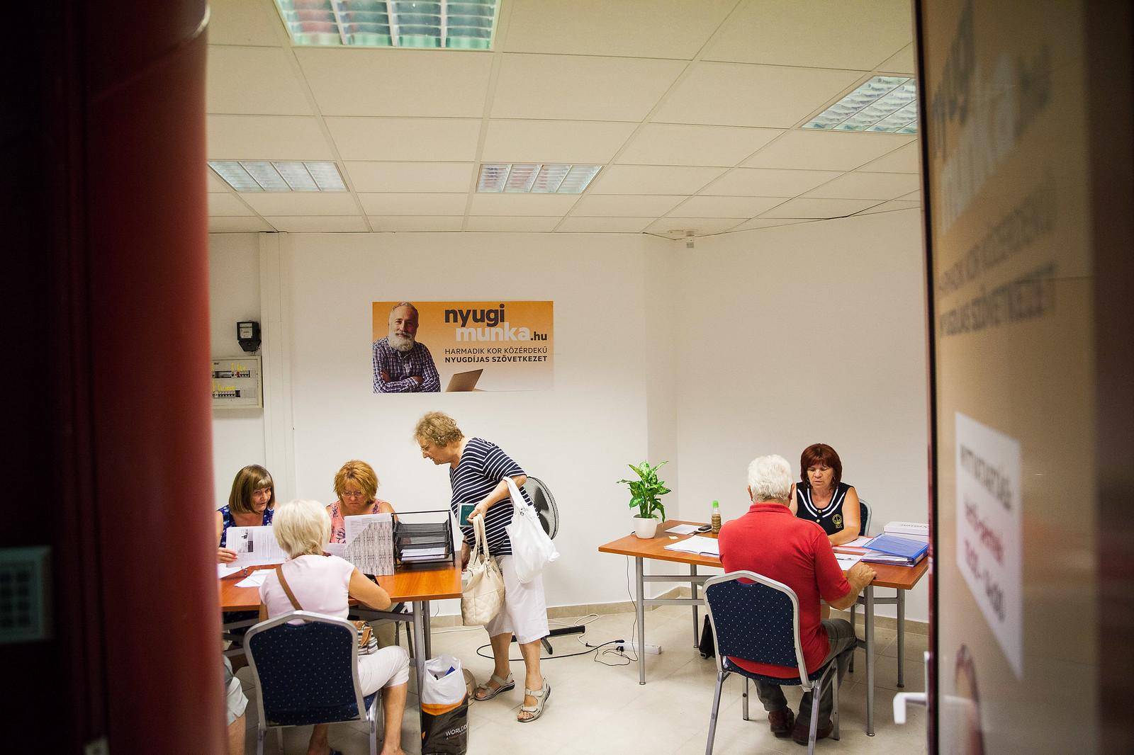 A miskolci szövetkezet irodája | Fotó: Magócsi Márton
