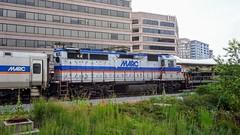 MTA Maryland Marc Commuter Rail EMD GP39H-2 #74