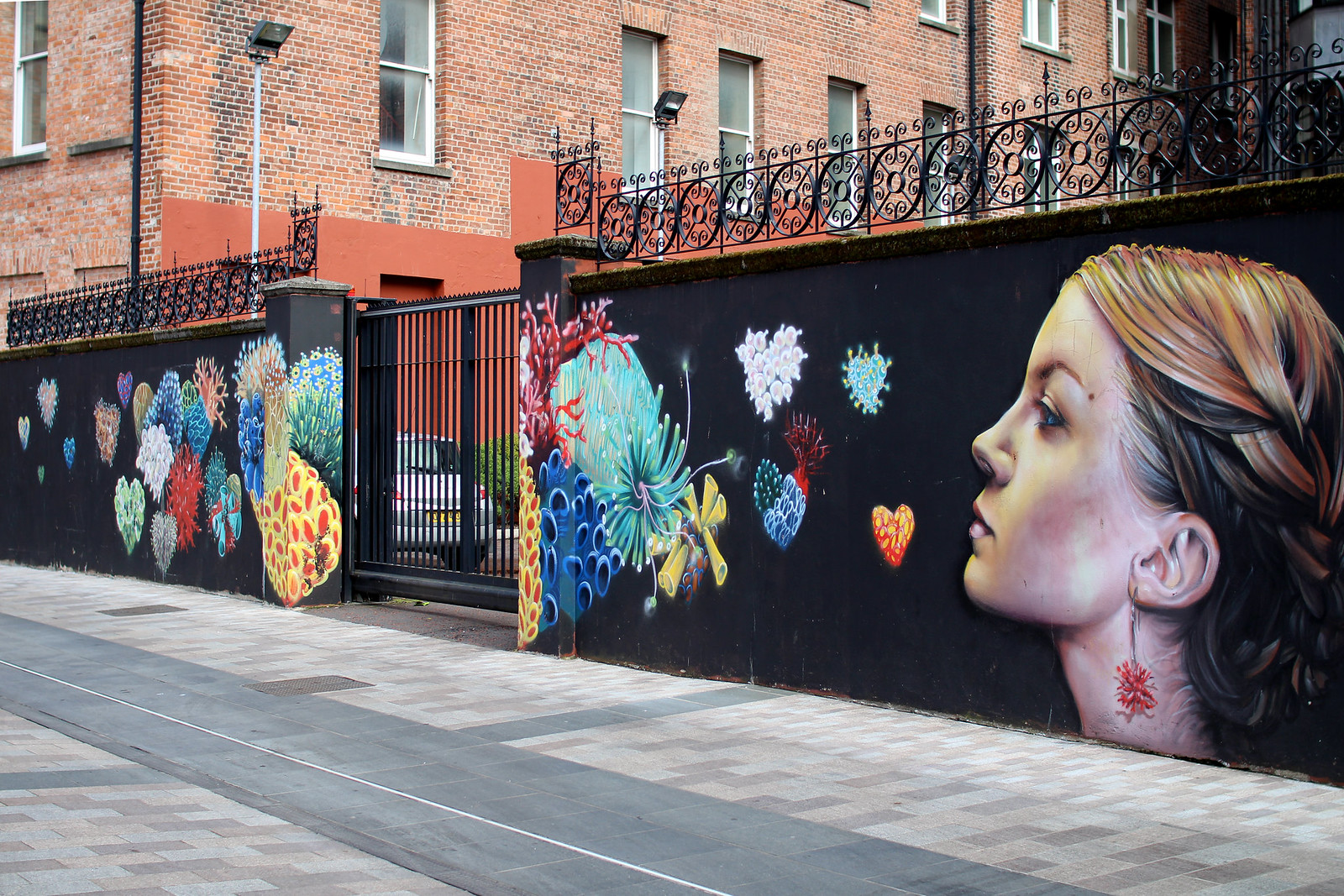 Street art murals Belfast 48 hour guide travel blogger UK Northern Ireland