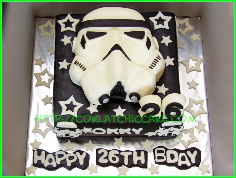 cake starwars OKKY
